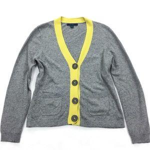 Boden | Oversized Button Front V-Neck Cardigan